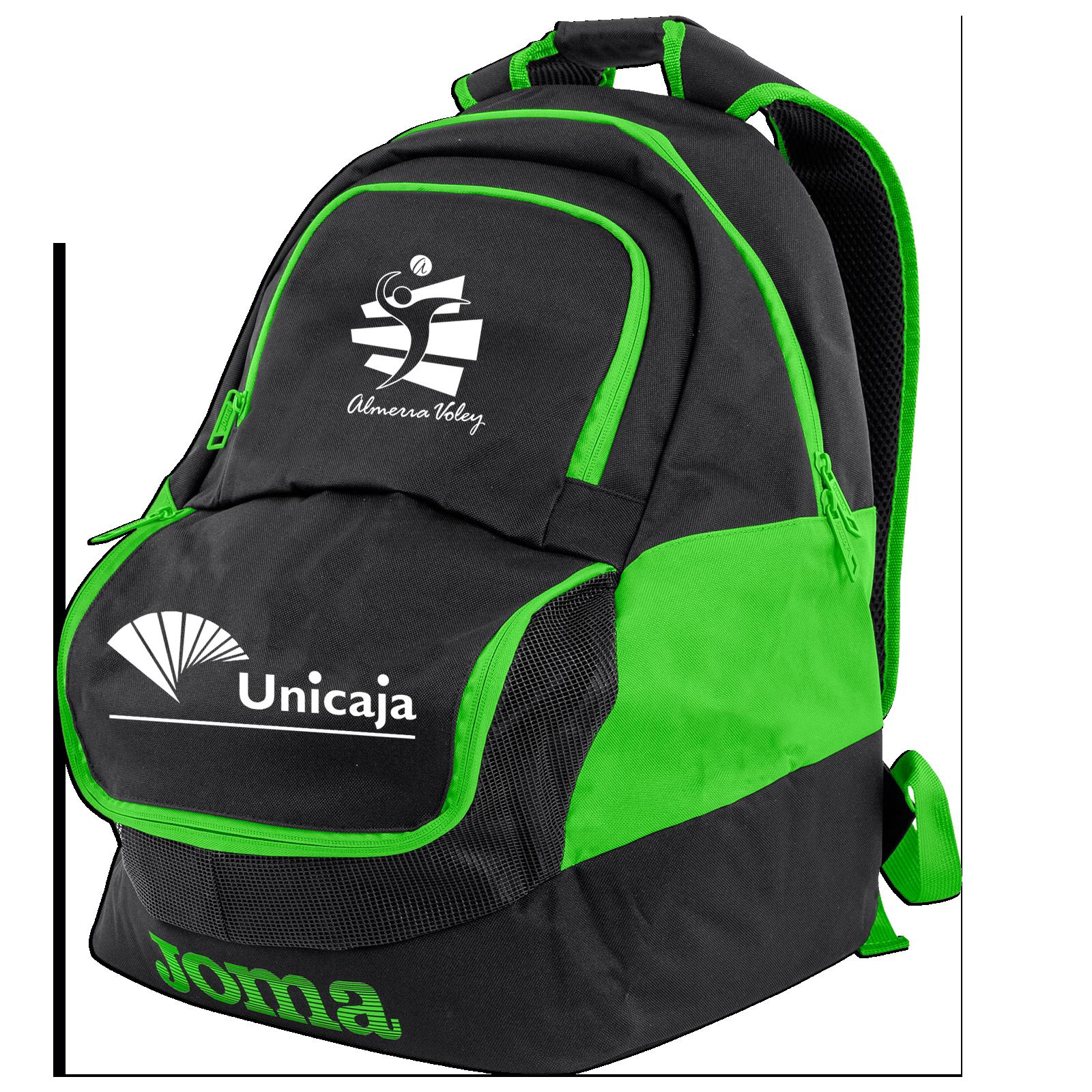 Mochila Oficial Verde Unicaja Costa de Almería 2019/20