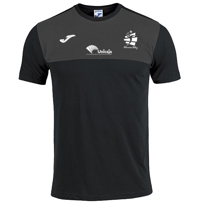 Camiseta Paseo Negra 2019/20