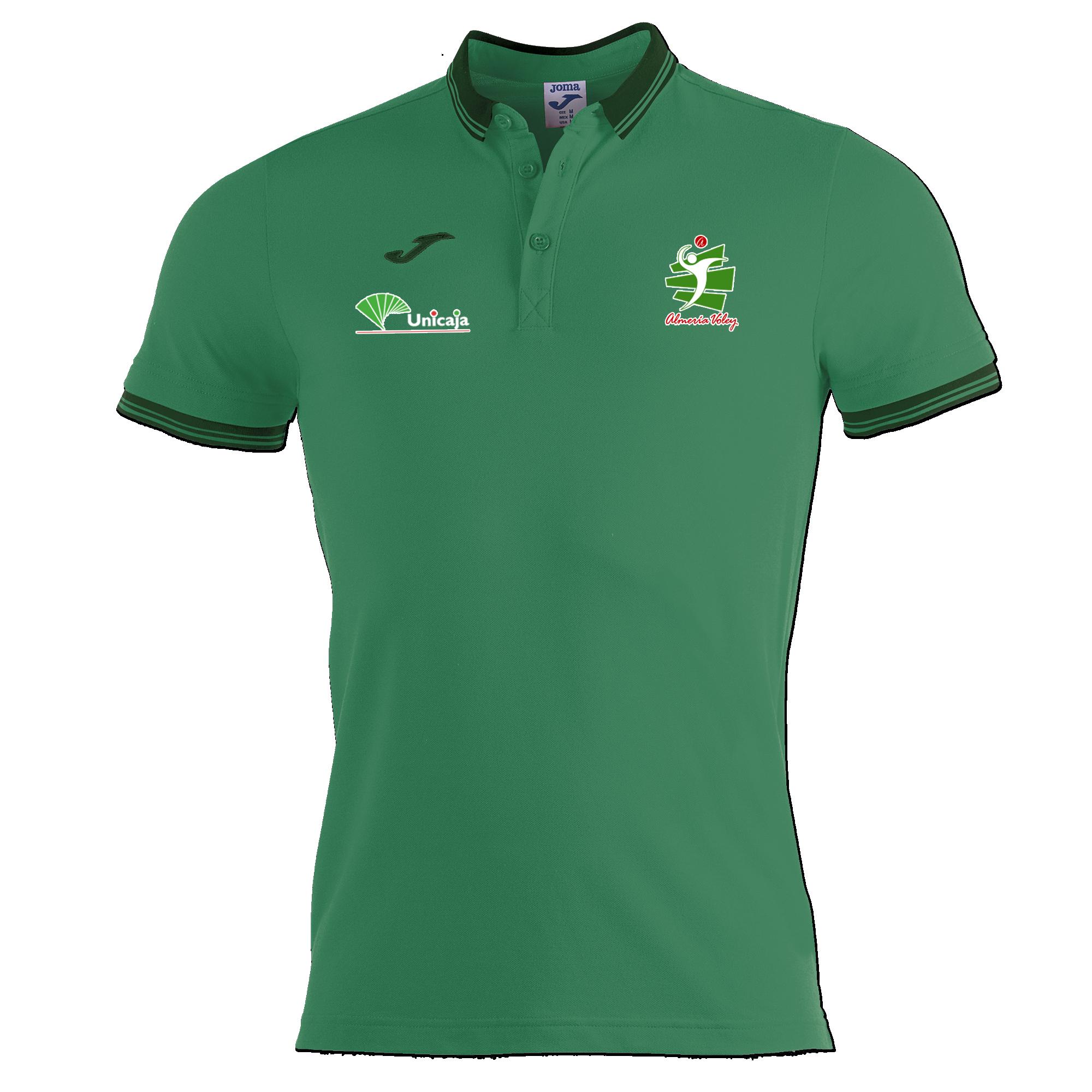 Polo Oficial Verde Unicaja Almería 2019/20