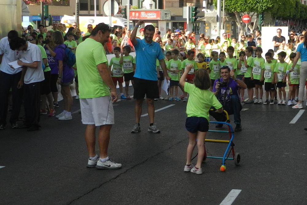 Unicaja Costa de Almería propone que Poco Frecuente dé la vuelta al mundo y echa a correr con todos sus equipos