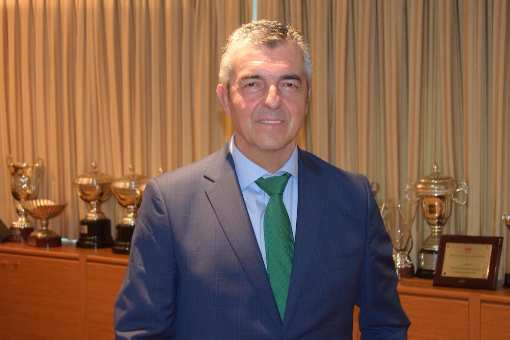 Antonio Rodríguez agradece el compromiso de la afición