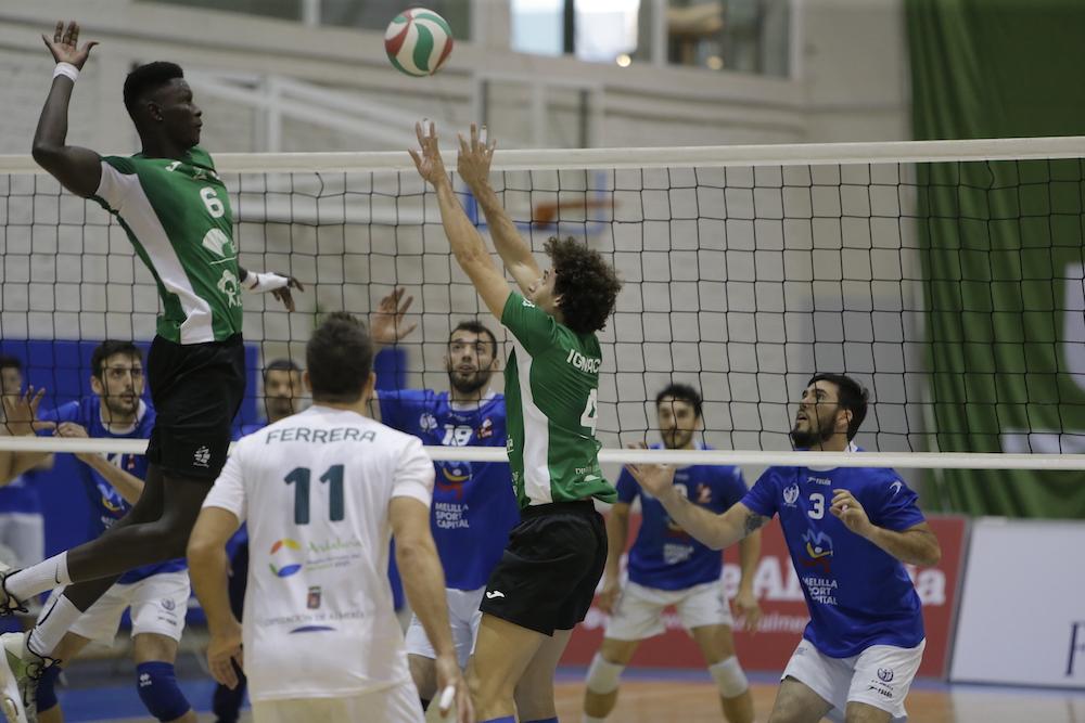 Un paso al frente del Unicaja Almería más esperado