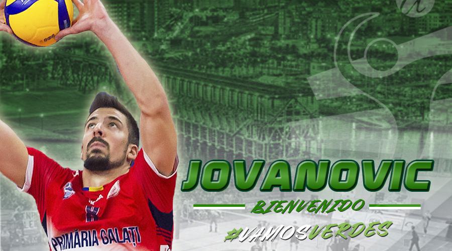 Igor Jovanovic, llega el mejor colocador de la CEV Cup